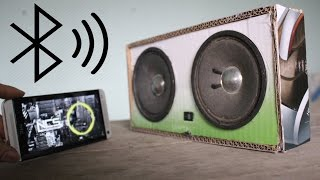 Cara membuat speaker bluetooth menggunakan kardus