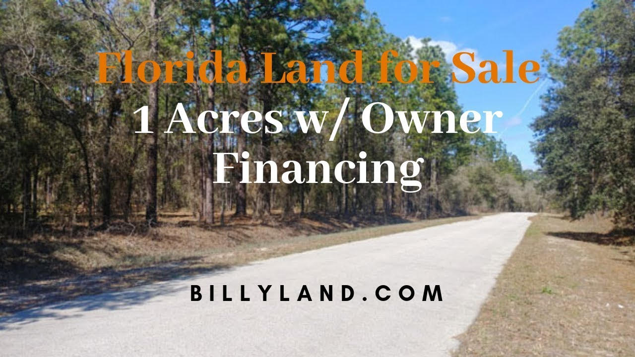 Florida Land for Sale 2 1 Acres, Marion County, Owner Financing