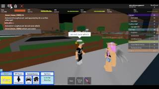 EPIC prank played on my freind on roblox high school!!:D