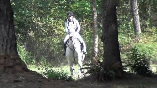 Sydney Rice riding Cowboy Casanova; AFHT, September 2015