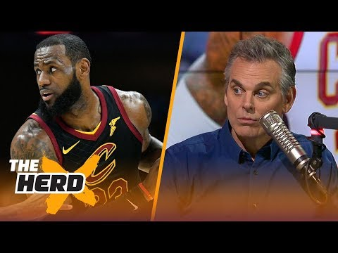 Colin thinks conflict could help LeBron James, Kevin Love and the Cavaliers | THE HERD