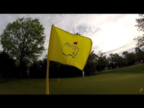 My two days at The Masters (Augusta National)
