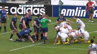 Healy's try & last 5 minutes : Heineken Cup 2012 Semi-F Clermont Auvergne vs Leinster