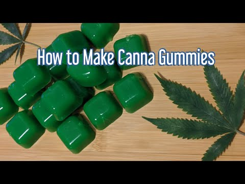 How to Make Canna Gummies with 4 Ingredients - Coconut oil THC gummies