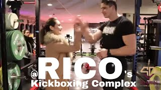 Kickboxing training by Rico Verhoeven number 1 heavyweight kickboxer