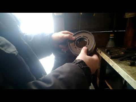 замена подшипника муфты компрессора кондиционера на шкода октавия тур
