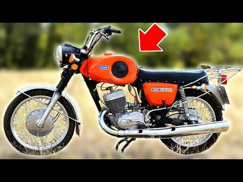 10 забытых легендарных мотоциклов СССР - Познавательные и прикольные видеоролики