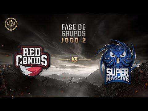 Red Canids x SuperMassive (Fase de Entrada - Dia 3) - MSI 2017