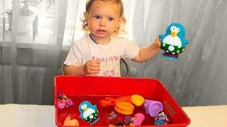 Дізнатися назви тварин з тварин іграшки для дітей