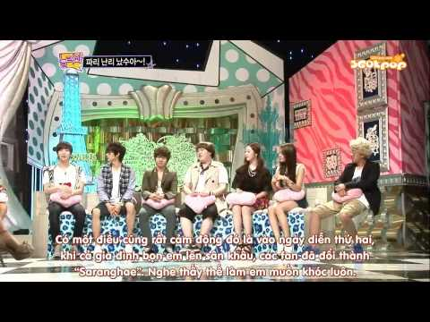 [Vietsub] 110627 Come To Play EP 344 - SM Town Special [360Kpop] (1/5)