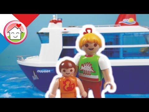 Playmobil en français Famille Hauser en croisière Partie 1 - film pour enfants