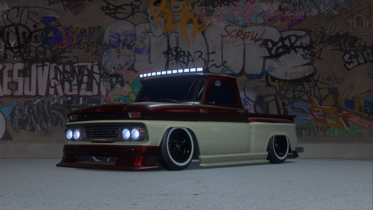 nfs payback c10 stepside pickup customization air. Black Bedroom Furniture Sets. Home Design Ideas