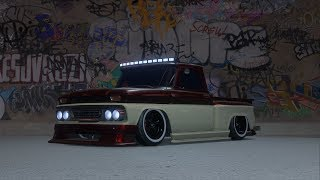 NFS PAYBACK - C10 Stepside Pickup Customization + Air Suspension