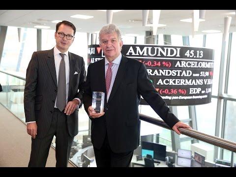 Euronext welcomes Amundi on Euronext Paris