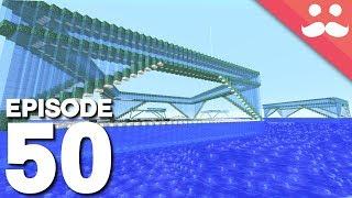 Hermitcraft 5: Episode 50 - OBEYING GRAVITY!