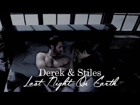 derek + stiles   last night on earth