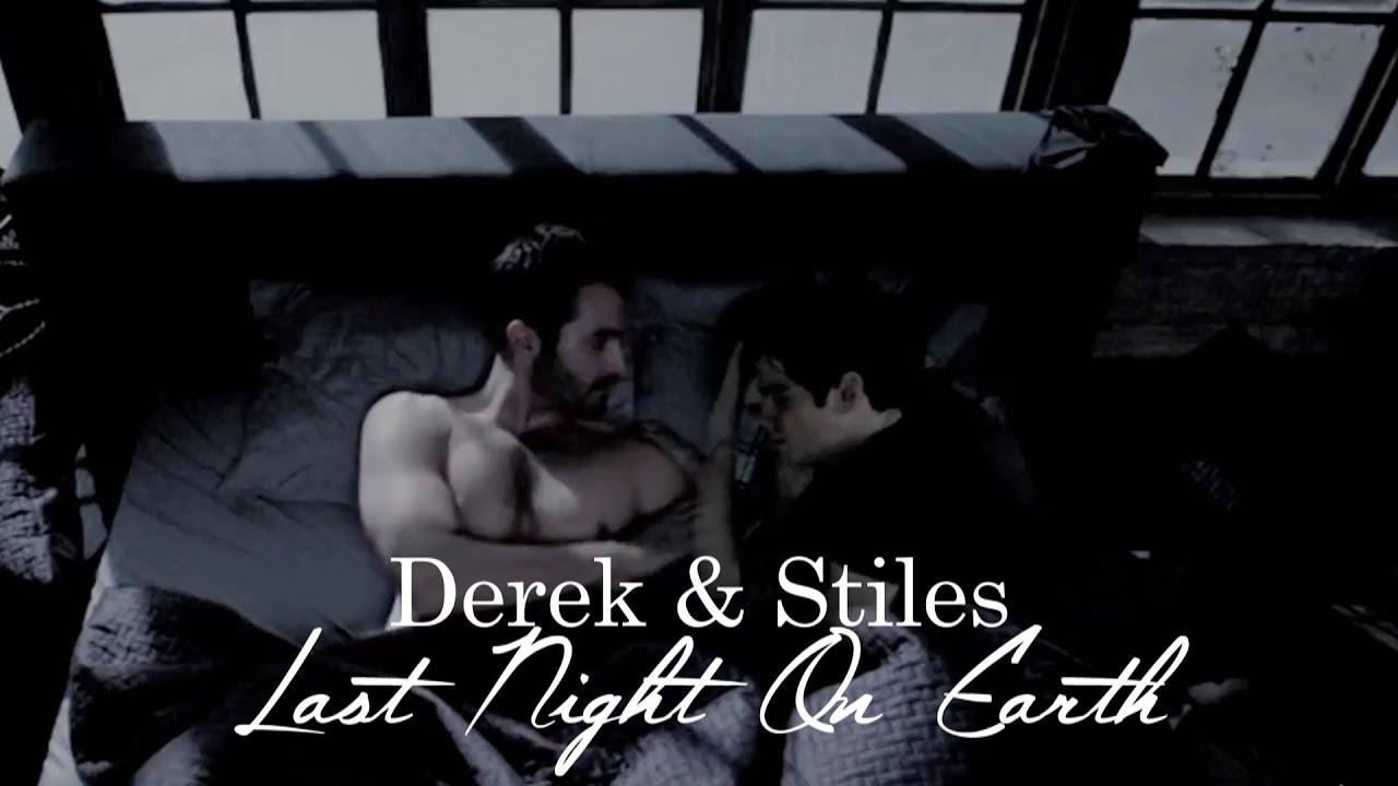 Stiles Stilinski And Derek Hale Kiss