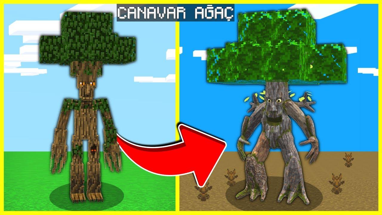 AĞAÇ ADAM, CANAVARA DÖNÜŞTÜ! 😱 - Minecraft