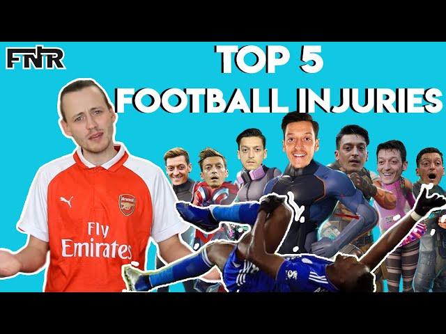 Top 5 Football Injuries | Strangest Injuries in Football