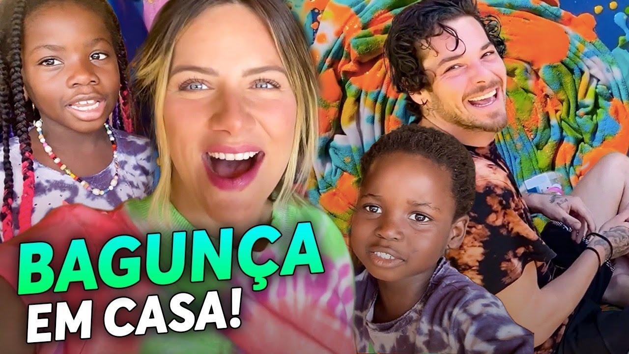 LUCA, TITI E BLESS FIZERAM ARTE!! - SERÁ QUE DEU CERTO????