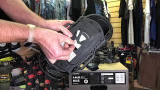Огляд і розпакування! Кріплення для сноуборду Burton X-Base EST (18-19)