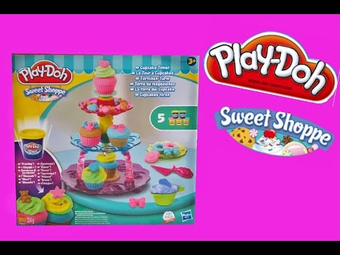 Play doh Sweet Shoppe Cupcake Tower!