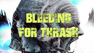 ANDRALLS - Bleeding For Thrash  (OFFICIAL LYRIC VIDEO)