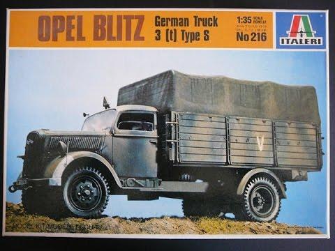 Kfz Italeri 216 Opel Blitz 305 1:35