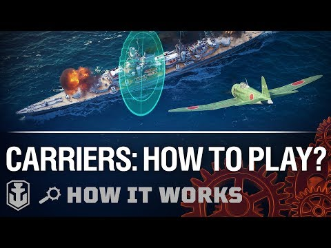 How It Works: New Carriers Gameplay | World of Warships