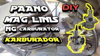 PAANO MAG LINIS NG CARBURATOR | DIY MAINTENANCE