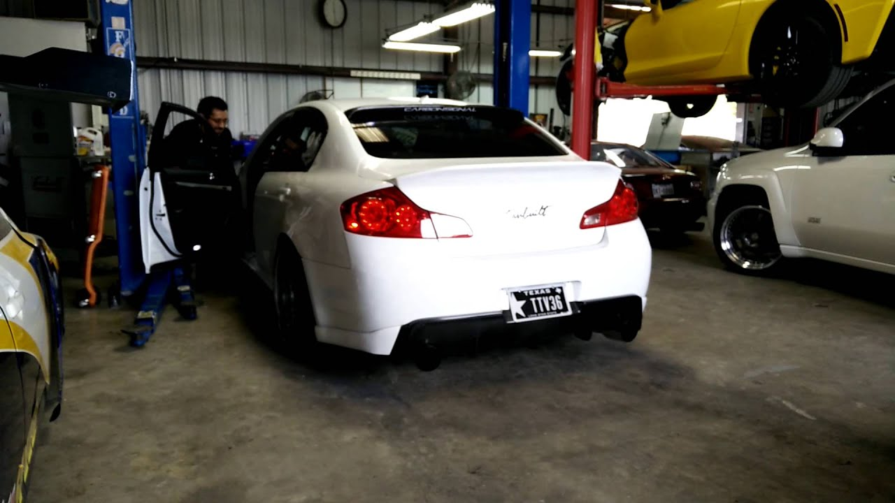 Custom 3 exhaust infiniti g35 g37 sedan aam twin turbo v36 custom 3 exhaust infiniti g35 g37 sedan aam twin turbo v36 tt v36 youtube vanachro Gallery