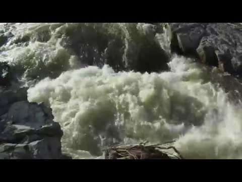 Aquabatics Calgary Elbow River Post Flood River Beta Run