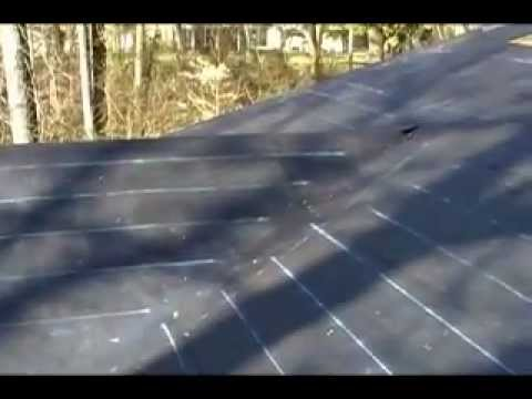 How To Roofing Measuring Amp Laying Off A Roof Youtube