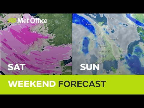 Weekend Weather – Don't expect the same as last weekend…….