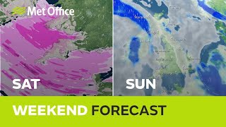 Weekend Weather - Don't expect the same as last weekend…….