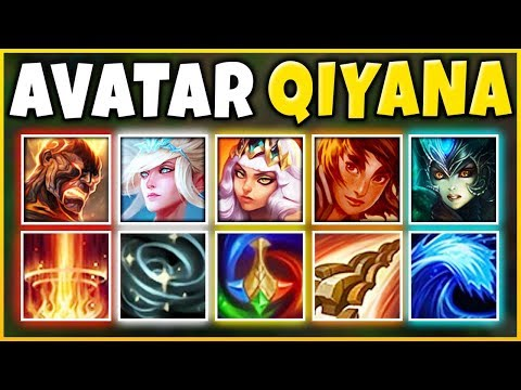 *NEW GIRL PLAYER* MY BEST VIDEO YET (AVATAR QIYANA COMP 2019) - League of Legends