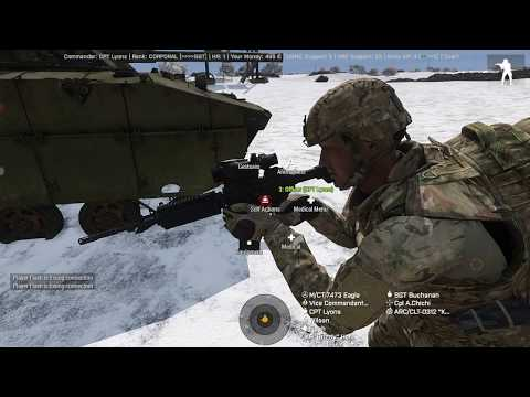 Snow Hill Battle | Antistasi | 25th Infantry Division Server (Arma 3 Modern Day Modded)