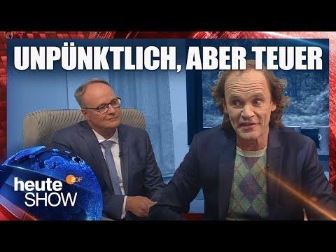 Olaf Schubert: Die vielen Probleme der Bahn | heute-show vom 14.09.2018