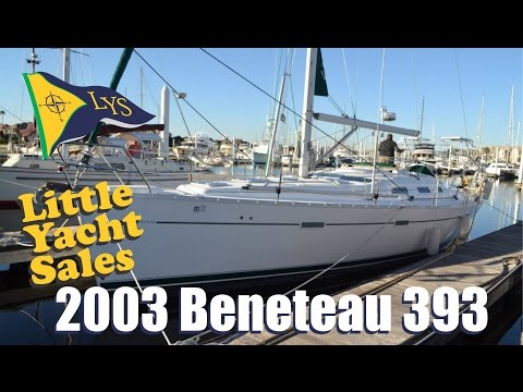 SOLD!!! 2003 Beneteau 393 Sailboat for sale at Little Yacht Sales, Kemah Texas
