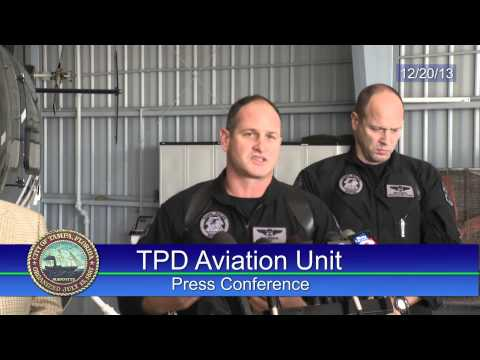 TPD Aviation Unit Press Conference