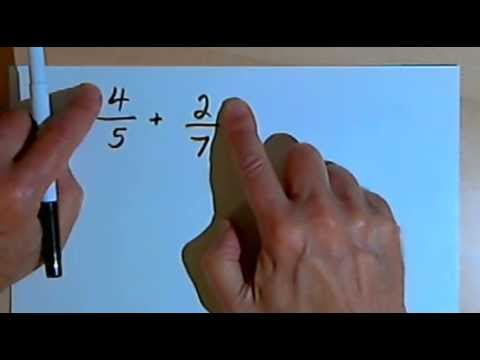 Adding Fractions with Different Denominators 127-3.14