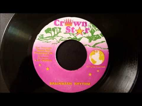 "Sizzla - Brainwash - Crown Star 7"" w/ Version"