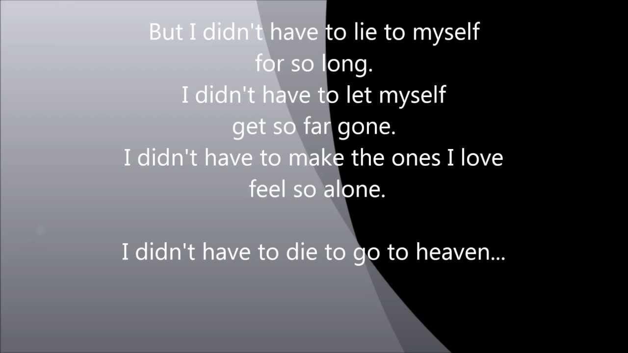 3 Doors Down Heaven Lyrics Youtube