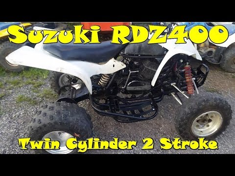 Suzuki Z400 with RD350 2 Stroke Engine Swap