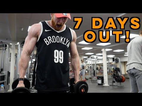 7 DAYS OUT! Mental Strength | Bodybuilding Training Voice Over
