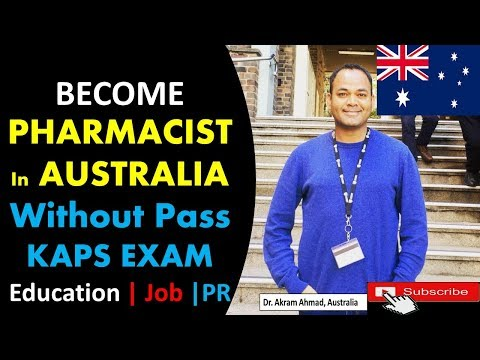 How To Become Pharmacist In Australia Without Passing KAPS Exam