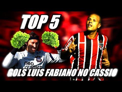 TOP 5 GOLS DO LUIS FABIANO NO CASSIO - SOBERANO TOP 5
