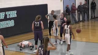 Waterville at Oceanside girls basketball
