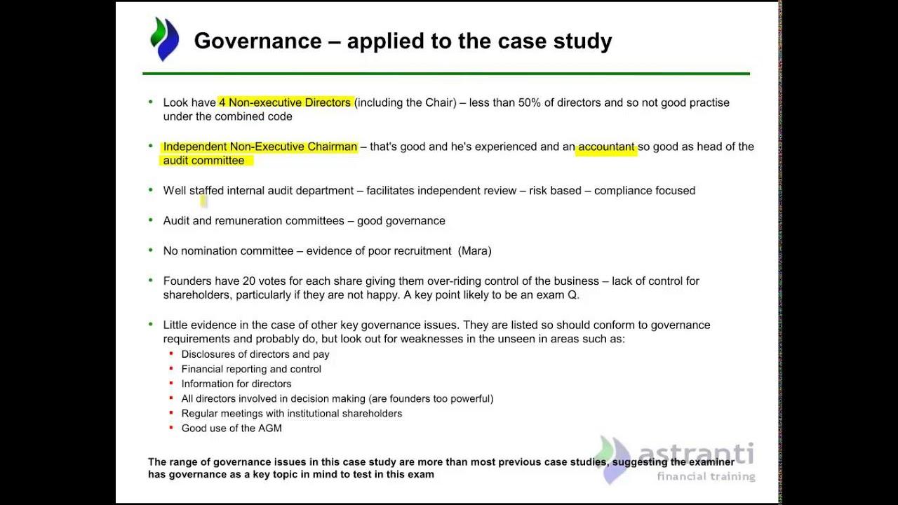 Strategic Analysis Look preseen March 2015 CIMA Strategic Integrated Case  Study
