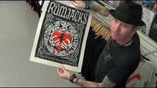 DIY or DIE - Rumjacks screen prints.